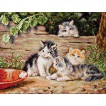 Kit Punto Croce - Luca-S - I gatti