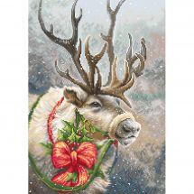 Kit Punto Croce - Luca-S - Cervo di Natale