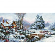 Kit Punto Croce - Luca-S - Paesaggio di neve