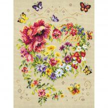 Kit Punto Croce - Magic Needle - Splendere del tuo cuore