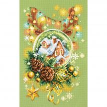 Kit Punto Croce - Magic Needle - Luce di Natale