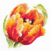 Kit Punto Croce - Magic Needle - Tulipano rosso