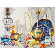 Kit Punto Croce - Magic Needle - Colori brillanti del Marocco