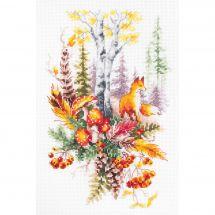 Kit Punto Croce - Magic Needle - Spirito della foresta d'autunno