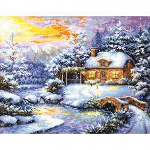 Kit Punto Croce - Magic Needle - Racconto d'inverno