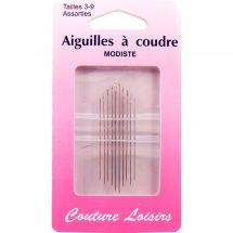 Aghi da cucire - Couture loisirs - Aghi per cucire a mano - Taglie 3-9