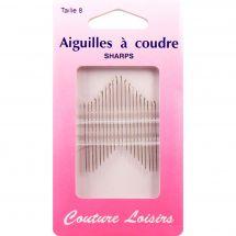 Aghi da cucire - Couture loisirs - Aghi per cucire a mano - Taglia 8
