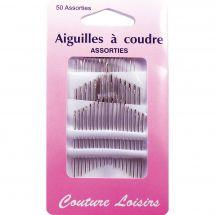 Aghi da cucire - Couture loisirs - Scatola da 50 aghi per cucire a mano
