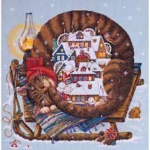 Kit Punto Croce - Merejka - Inverno accogliente