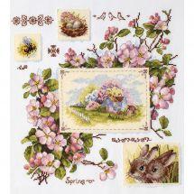 Kit Punto Croce - Merejka - Immagini di primavera