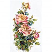 Kit Punto Croce - Merejka - Rose gialle