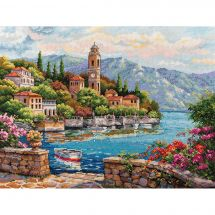 Kit Punto Croce - Merejka - Lago di Como