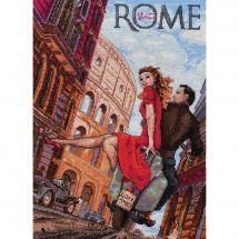 Kit Punto Croce - Merejka - Visita Roma
