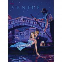 Kit Punto Croce - Merejka - Visita Venezia