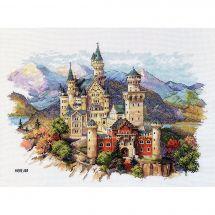 Kit Punto Croce - Merejka - Castello di Neuschwanstein
