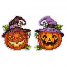 Kit di ornamenti da ricamare - MP Studia - Lanterna di Halloween