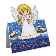 Kit di ornamenti da ricamare - MP Studia - Cuscino da ricamare angelo