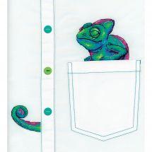 Kit di personalizzazione - MP Studia - Curioso camaleonte