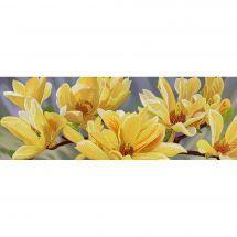 Kit di ricamo con perline - Nova Sloboda - Magnolie dorate