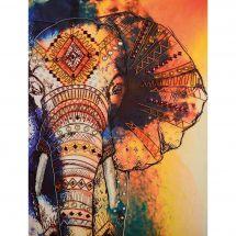 Kit di ricamo con perline - Nova Sloboda - Elefante