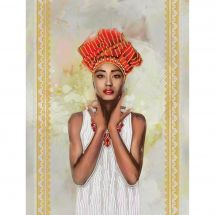 Kit di ricamo con perline - Nova Sloboda - Etiopia
