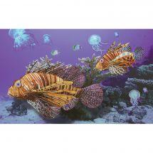 Kit di ricamo con perline - Nova Sloboda - pesce scorpione