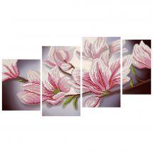 Kit di ricamo con perline - Nova Sloboda - Magnolia