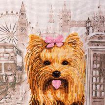 Kit Punto Croce - Nova Sloboda - Yorkshire terrier