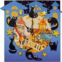 Kit Pendolo da ricamo - Nova Sloboda - Casa di gatto