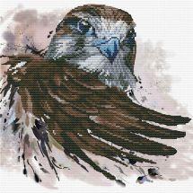 Kit Punto Croce - Ladybird - La salvezza del falco