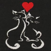 Kit Punto Croce - Oven - L'amore