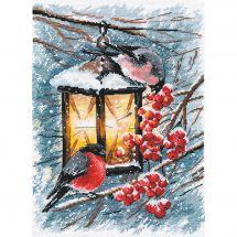 Kit Punto Croce - Oven - Luce di Natale