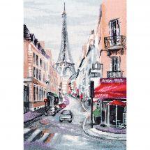 Kit Punto Croce - Oven - Cuore di Parigi