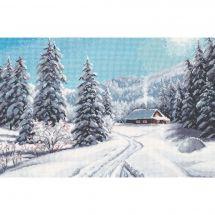Kit Punto Croce - Oven - Giorno d'inverno