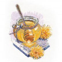 Kit Punto Croce - Oven - Miele di primavera