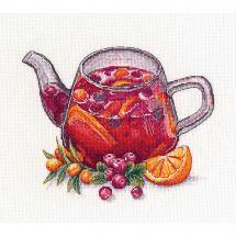 Kit Punto Croce - Oven - Tè alle bacche