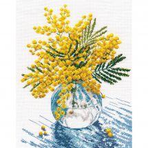 Kit Punto Croce - Oven - Mimosa