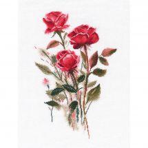 Kit Punto Croce - Oven - Rose