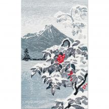 Kit Punto Croce - Oven - Inverno e paesaggio di montagna
