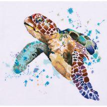Kit Punto Croce - Oven - La longevità della tartaruga