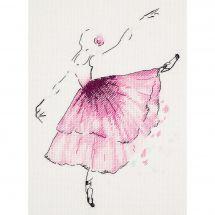 Kit Punto Croce - Panna - Ballerina