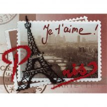 Kit di ricamo con perline - Panna - Parigi