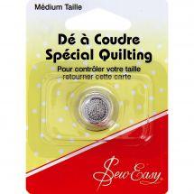 Ditale  - Sew Easy - Per Quilting - Taglia M