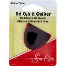 accessorio patchwork, - Sew Easy - Ditale in pelle per quilting- Dimensioni ridotte