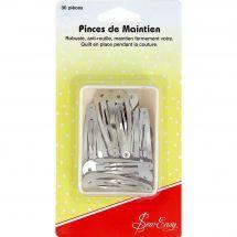 accessorio patchwork, - Sew Easy - 30 clips per bordi e orli