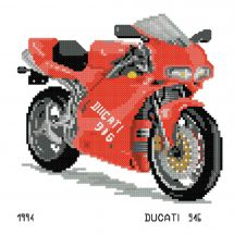 Kit Punto Croce - Luc Créations - Ducati 916