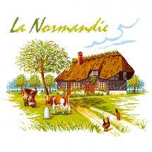 Kit Punto Croce - Luc Créations - La Normandia