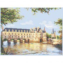 Kit Punto Croce - Luc Créations - Il castello di Chenonceau