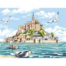 Kit Punto Croce - Luc Créations - Il Monte Saint Michel