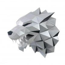 Puzzle 3D - Wizardi - Testa di lupo
